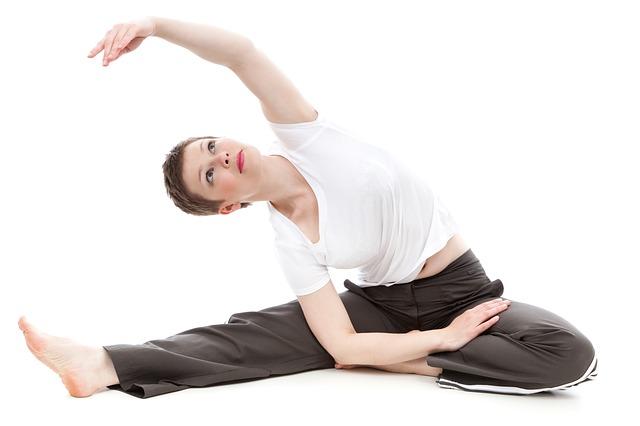 žena, cvičení
