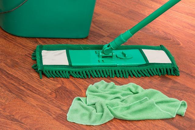 kýbl, hard a mop
