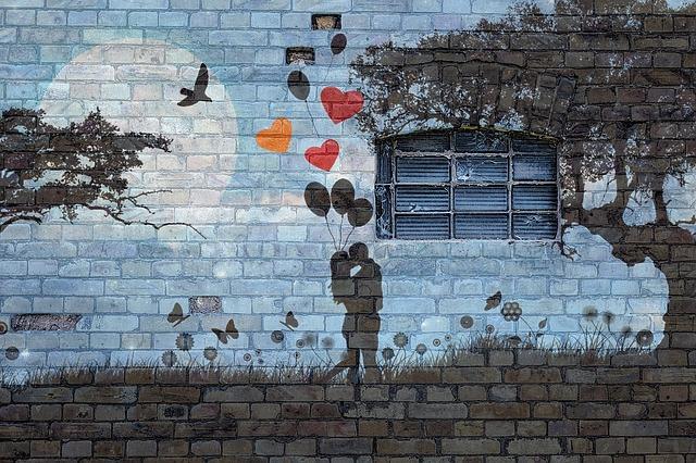zeď lásky